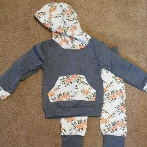 Boutique baby girl outfit